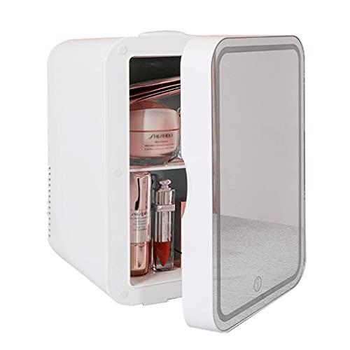 H.Slay SHKUU Mini Refrigerator Ladies Professional Refrigeratorl Light con 3 ajustes de Brillo