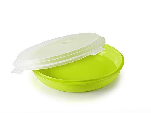 IBILI 749110 - Caja para Tortilla, plástico, Verde, 21,5 x