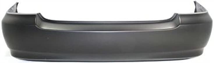 Crash Parts Plus Primed Rear Bumper Cover Replacement for 2003-2008 Toyota Corolla