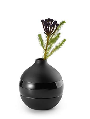 Philippi - NEGRETTO Vase S - schwarz - Design aus Hamburg - diese Vase ist Teil der NEGRETTO Serie von PHILIPPI