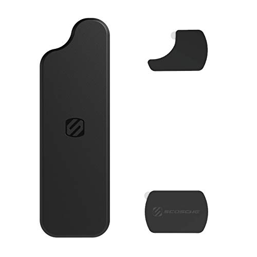 Scosche MDMRK2-XCES0 MagicMount Magnetic Replacement Plate Kit for iPhone 11, 11 Max and Google Pixel 4/4 XL
