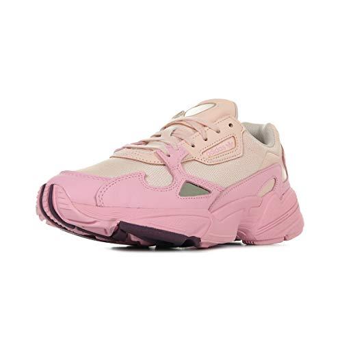 adidas Damen Falcon W Sneaker, Rose, 39 1/3 EU