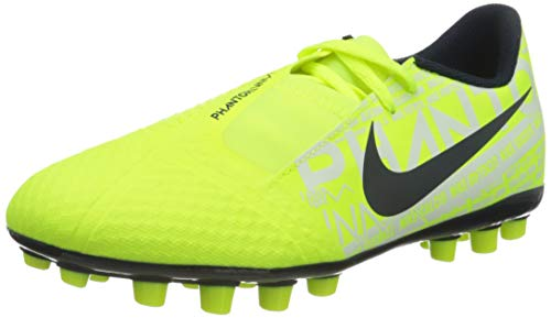 Nike JR Phantom Venom Academy AG, Botas de fútbol Unisex niño, Verde (Volt/Obsidian/Volt 717), 37.5 EU