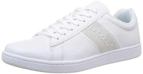 Lacoste Herren Carnaby Evo 319 1 SMA Sneaker, Weiß (Wht/Off Wht 65t), 40 EU