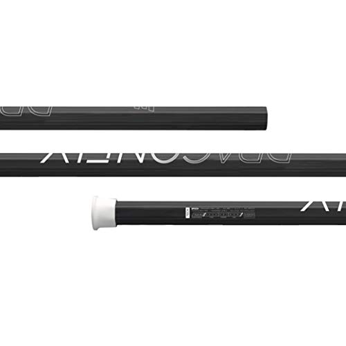 Epoch Dragonfly Pro Lacrosse Shaft for Attack/Midfield, 30', Mid-Flex iQ5, C30, Carbon Black