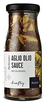 Aglio Olio Sauce 70g - Pastasauce mit Olivenöl I Wajos Gourmet