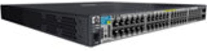 HP J9311A 3500-48G-PoE+ yl Switch - Switch - managed - 48 x 10/100/1000 (PoE) + 4 x shared SFP - rack-mountable - PoE
