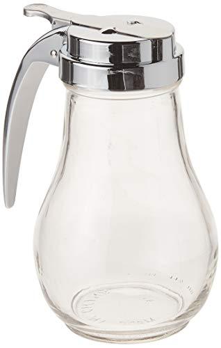 Winco Maple Syrup or Honey Dispenser-14 oz, Medium, Clear, Steel