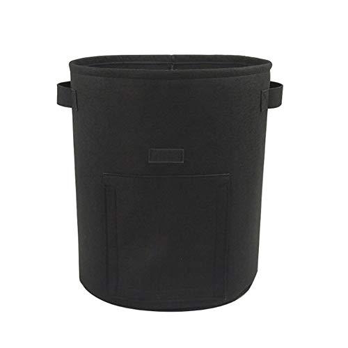 GL Grow Bags Für Pflanzen, 10 Gallonen-38L Sichtbares Fenster Mit Klappe Und Griffen, Für Die Aussaat Im Innenbereich, Bio-Gemüse, Obst Und Blumen