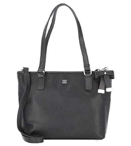 Jette Damen Tasche Saffiano blau Henkeltasche Handtasche Umhängetasche