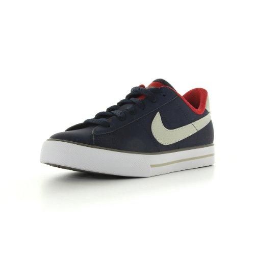 Nike Sweet classic (GS/PS), Jungen Sneaker Blau Bleu marine, gris et rouge 31.5