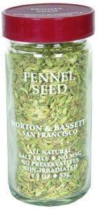Morton And Luxury goods Bassett Fennel Seed Seasoning 3 Ounce Superior cas 1.9 -- per