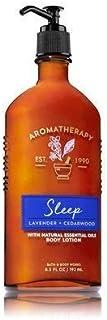 【Bath&Body Works/バス&ボディワークス】 ボディローション アロマセラピー スリープ ラベンダーシダーウッド Body Lotion Aromatherapy Sleep Lavender Cedarwood 6.5 fl oz / 192 mL [並行輸入品]