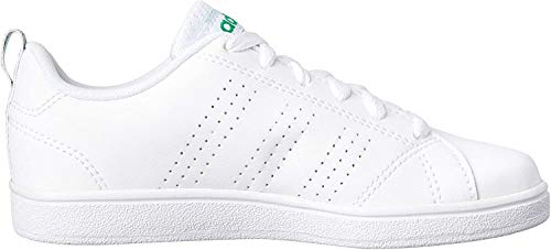 adidas Vs Advantage Clean K, Sneakers Bimbo, Bianco, 29 EU