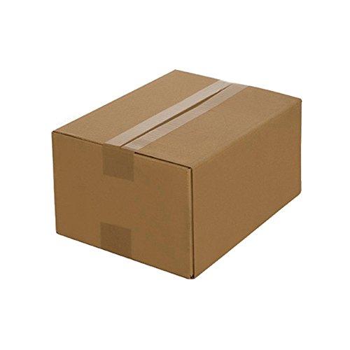 100 Faltkartons 330 x 240 x 160 mm, Verpackung Versand Schachtel aus Wellpappe Karton Kiste Postversand