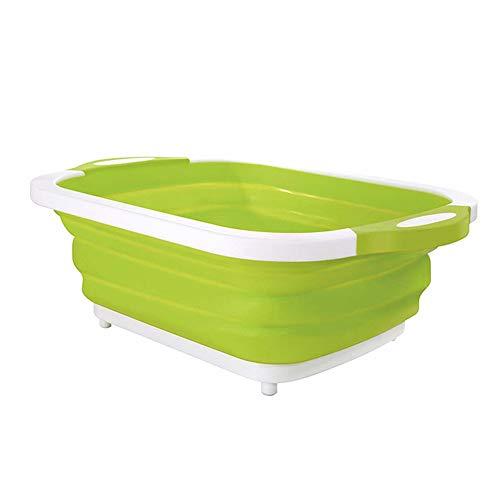 Sumshy Faltschüssel, Camping Abwaschschüssel Faltbar, Tragbar Camping-Schüssel, 10L Abwasch-Schüssel, perfekt für den Abwasch, die Reinigung, alle Aktivitäten im Freien, zu Hause oder in der Küche