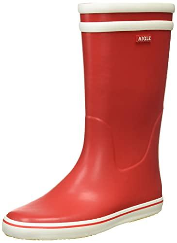 Aigle Malouine 247984 Stivali da Donna, Rosso (Rot (rouge/blanc)), 39 EU