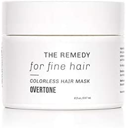 oVertone Haircare The Remedy for Fine Hair Hydrating Hair Mask with Shea Butter Coconut Oil product image