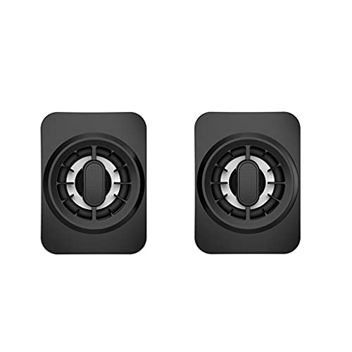 HEYLULU USB Computer Speaker Altavoz para portátil con Sonido estéreo y Bajos mejorados Mini Barra de Sonido portátil para Piezas de Windows Altavoces de Escritorio