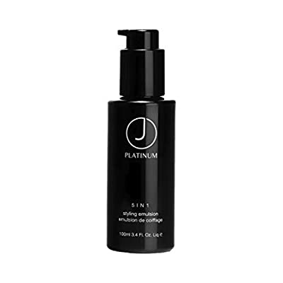 J Beverly Hills Platinum 5 in 1, Styling Emulsion, Leave-in Styling Cream