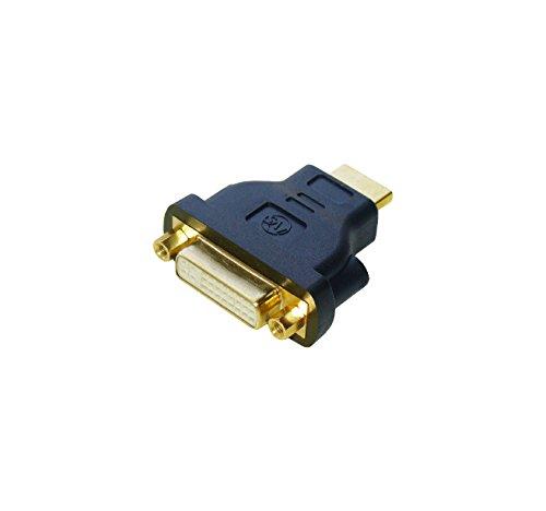 『HDMI DVI 変換アダプター HDMIオス-DVI 24ピンメス変換』の1枚目の画像