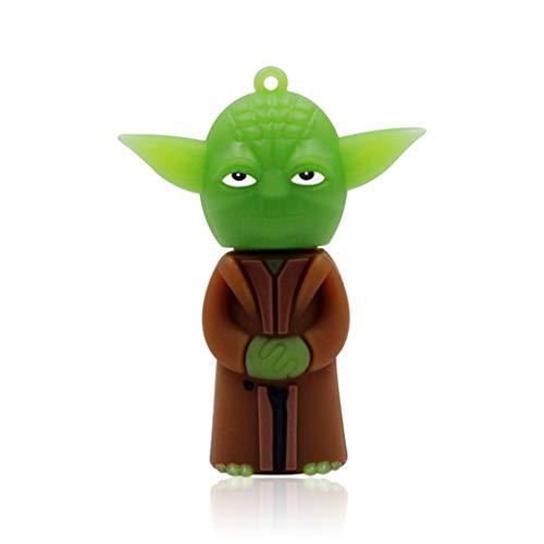 Cradifisho - Chiavetta USB 32 GB, motivo: Star Wars Yoda