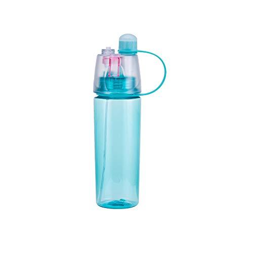 Trinken und Nebeln Flasche, Spray Cup Sommer Feuchtigkeit Schönheit Kühlung Plastikschale Magie Outdoor Custom Sport Flasche Tragbare Tasse Tragbare Luftbefeuchter