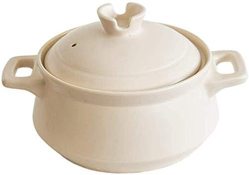 SBDLXY Cazuela de Sopa Cazuela, Cazuela Redonda de cerámica