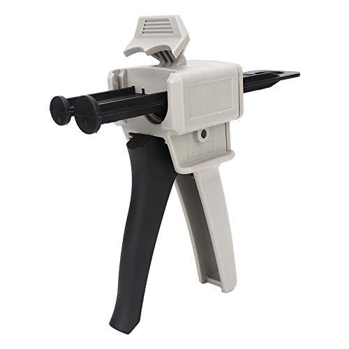 Pistola de pegamento epoxi AB de 50 ml universal 1: 1 mezclador universal de dos componentes de la pistola de pegamento mezclador