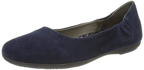 Marc Shoes Damen Janine Ballerinas, Blau, 40 EU