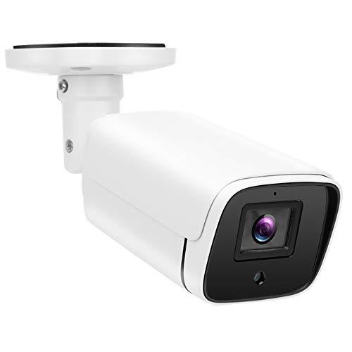 FILFEEL 1080P AHD CCTV Kamera, 5MP Kamera mit HD IR Nachtsicht wasserdichte PIR Erkennungsfunktion AC100V - 240V für Verschiedene Szenarien(EU Plug)