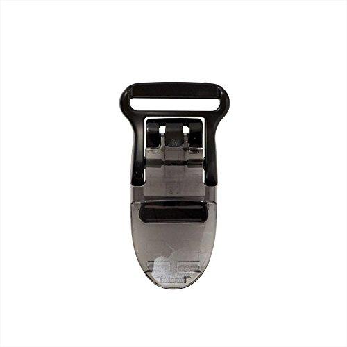 KIYOHARA サンコッコー フィッシュクリップ 平テープ用 2個入り 幅15mm 黒 SUN90-101