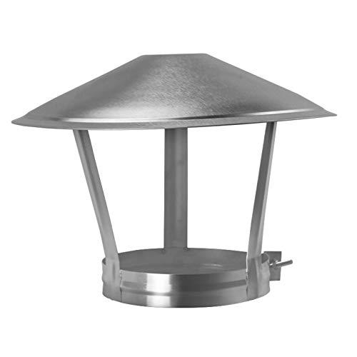 LTLCBB Sombrero Extractor de Humo Estufa Acero Inoxidable 304 Ideal Estufas Chimeneas Hogar Piso 75-250mm,150mm