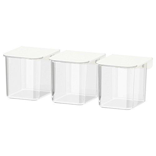 Skadis Container mit Deckel, weiß