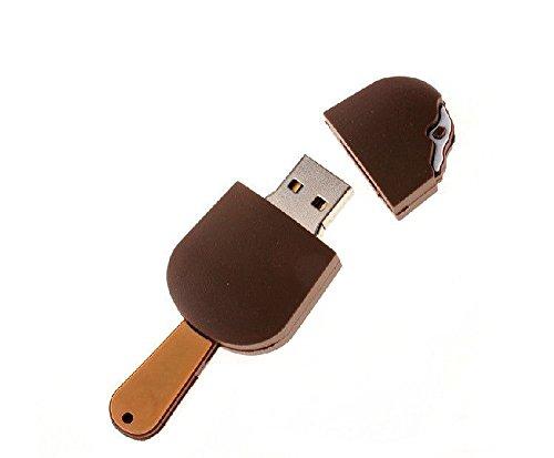 Compatible con: puerto USB 2.0 Fácil de usar Diseño de la forma creativa de helado que más lindo. Soporte: Windows 98 / 98SE, Me / 2000 / XP, VISTA, 7; Mac: OS 9.0 / 10.0 o posterior; Linux: kernel 2.4 o posterior Tipo: No OEM/del mercado de accesori...