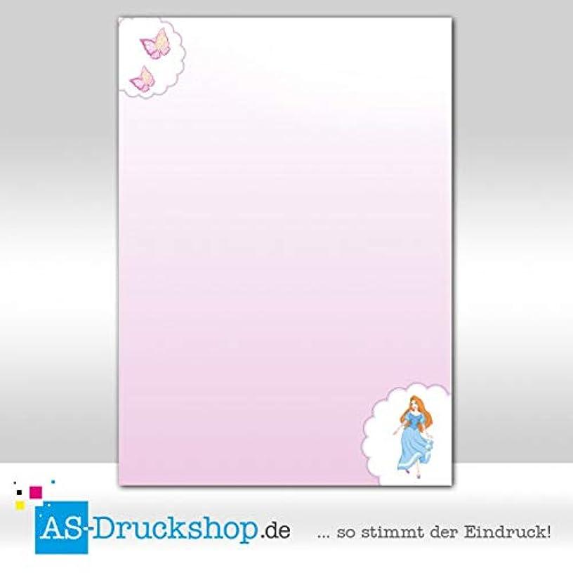 Children's Design Paper Butterfly Pink 25 Sheets DIN A5 90 g Offset Paper