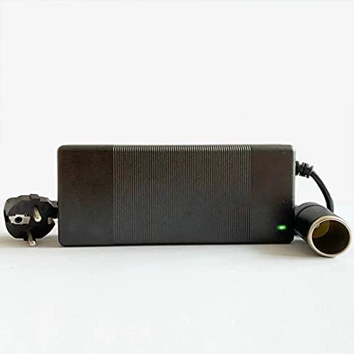 RGBER Spannungswandler 230v auf 12v, KFZ-Netzteil 12V 10A mit Zigarettenanzünder Buchse,12V 10A AC-DC Spannungswandler, Wechselrichter 220 auf 12 Volt (120W)