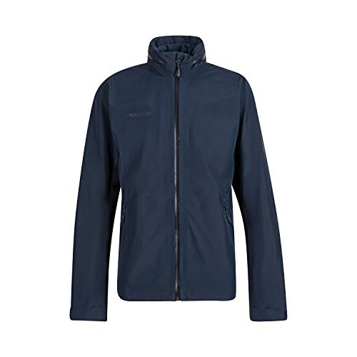 Mammut Herren Hardshell Jacke mit Kapuze, Blau (marine), L