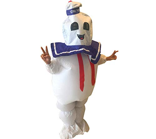 Dengjiam Aufblasbarer Anzug Marshmallow Fudge Marshmallow aufblasbarer Anzug Kinder Kinder aufblasbare Phantasie Karneval Halloween Kostüm