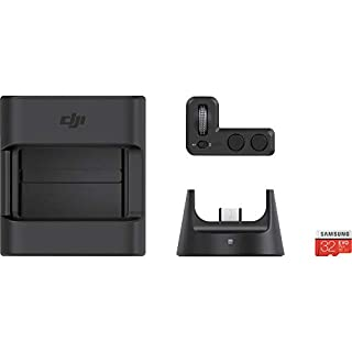 DJI Osmo Pocket  Expansion Kit with 1 Wheel Controller, 1 Wireless Module, 1 Accessory Mount, 1 Samsung 32 GB microSD Card 4 Accessories, Portable and Versatile, Precise Gimbal Control, Universal Port (B07KY4M2V3)   Amazon price tracker / tracking, Amazon price history charts, Amazon price watches, Amazon price drop alerts