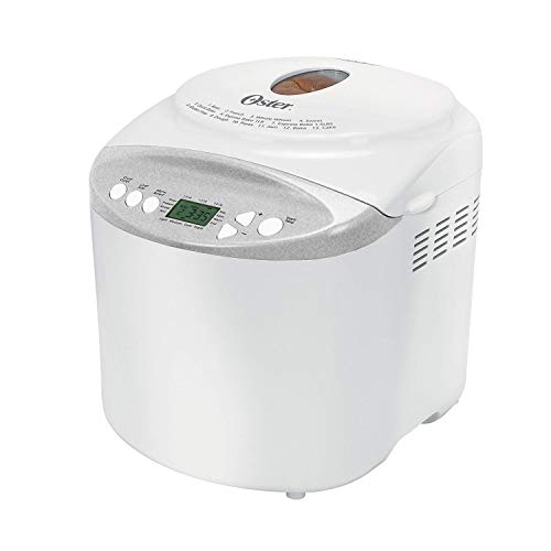 Oster Expressbake Bread Maker with Gluten-Free Setting, 2 Pound, White...
