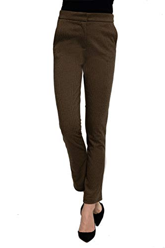 Zhrill Damen Stoffhose Anzugshose Tapered Cropped Slim Fit Grace, Größe:M, Farbe:N290 - Yellow