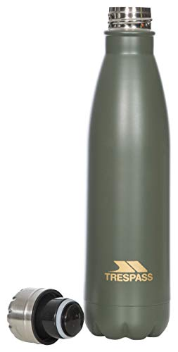Trespass Caddo Bouteille Isotherme Unisexe 500 ML Olive Taille Unique