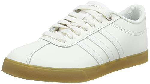 adidas Courtset, Scarpe da Tennis Donna, Bianco (Cloud White/Cloud White/Core Black 0), 37 1/3 EU