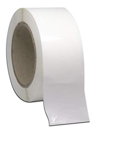 1000 pegatinas redondas de 50 mm, 5 cm, pegatinas de círculo, pegatinas transparentes, pegatinas de sobres, pegatinas redondas transparentes, pegatinas transparentes para sellos