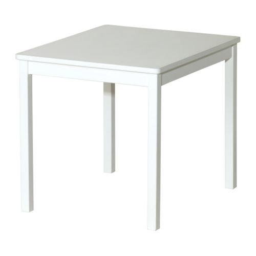 Ikea Kritter - Tavolo da bambino, bianco, 59x 50cm