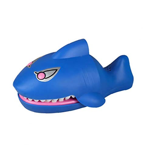Nicedier Dedo penetrante Forma de Juego de Dibujos Animados Shark eléctrico de...