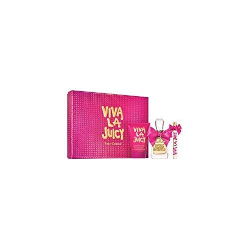 Juicy Couture Viva la Juicy Eau de Parfum 50ml + Leche Corporal 125ml + Eau de Parfum 10ml - 1 Unidad