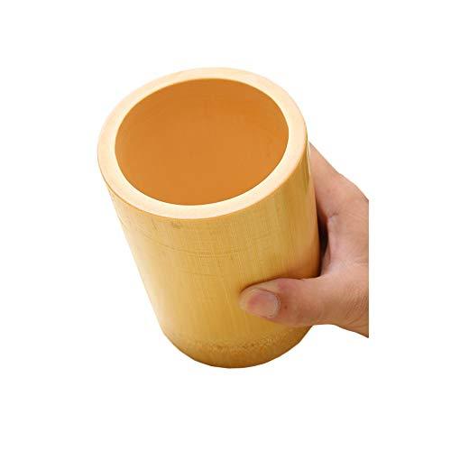 DEI QI Bambus Stifthalter Dekoration, Bambus-Korn-Muster ist klar, einfach und roh, rein natürlich, einfach und geschmackvoll