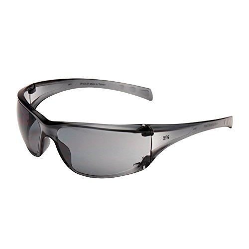 3M 7151201 Virtua - Gafas de seguridad con lentes antiarañazos, color gris (20 unidades) ⭐